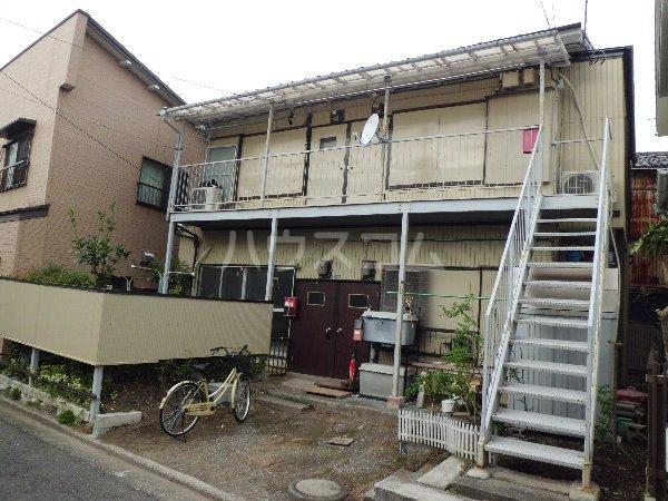竹内アパート 1号室のエントランス