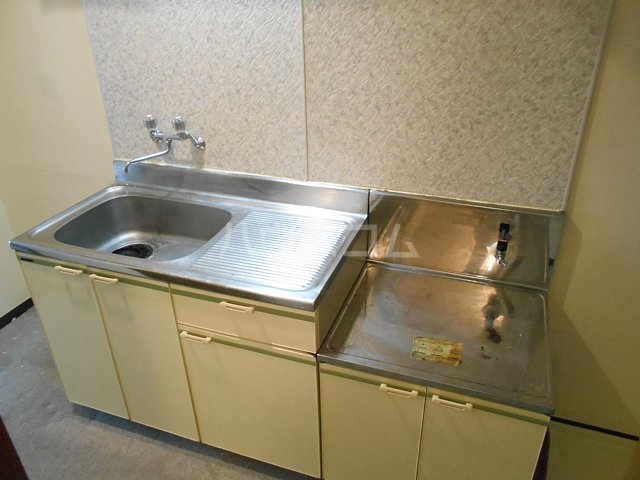 ヤガラハイツ 205号室のキッチン