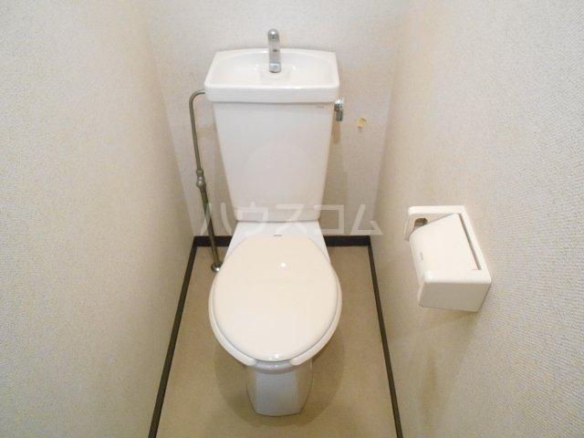 ヤガラハイツ 205号室のトイレ