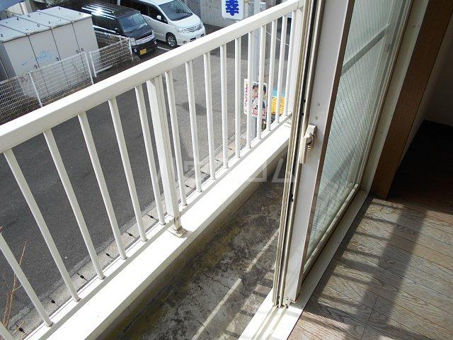 ヤガラハイツⅡ 205号室のバルコニー