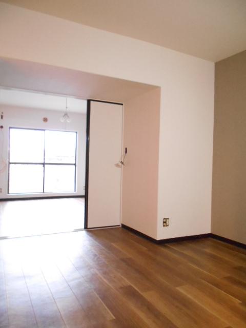 サニーホームズA 203号室のバルコニー