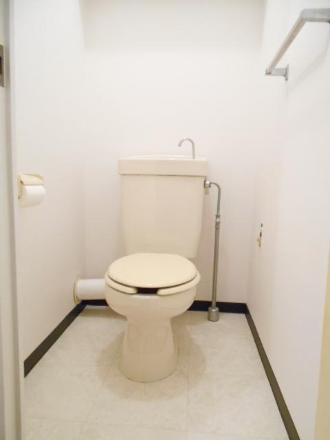 サニーホームズA 203号室のトイレ