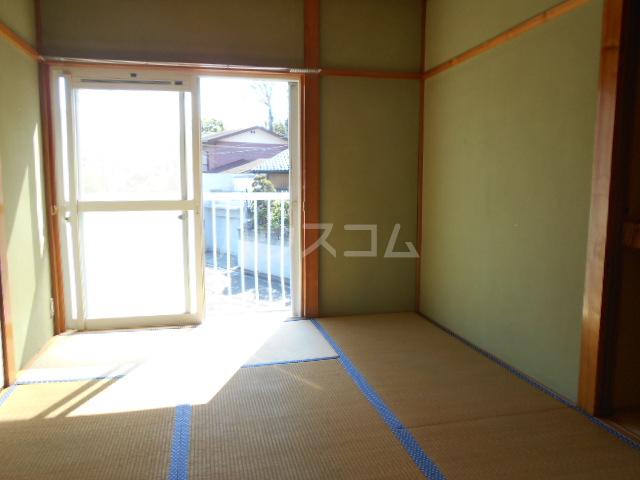 安西ハイツA棟 201号室の居室
