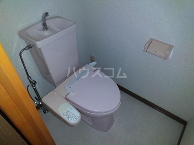 グレイスタウンコート 203号室のトイレ