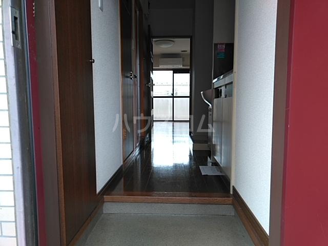 グレイスタウンコート 203号室の玄関