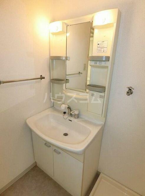 ラフィネ・シャンヴル 601号室の洗面所