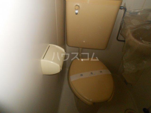 ピースフルハウス 401号室のトイレ