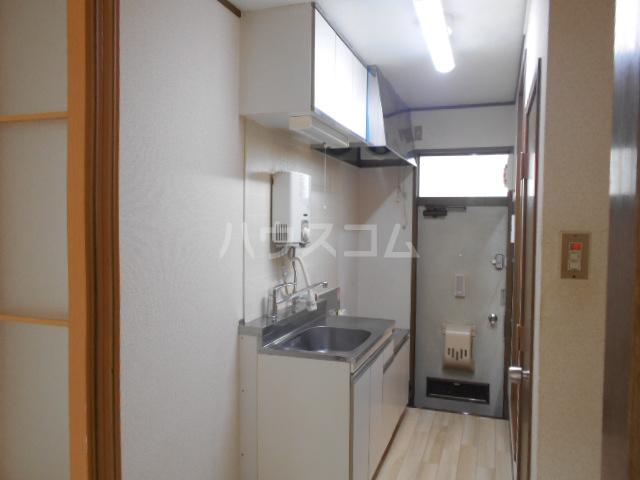 第二サフランハイツ 1-G号室のキッチン