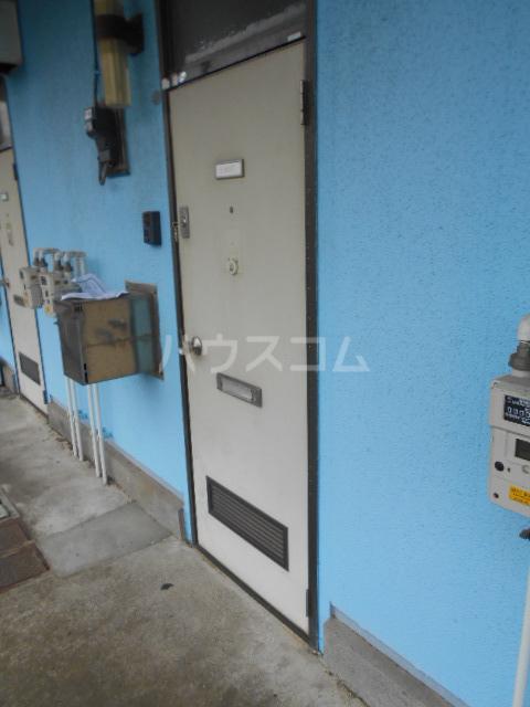 第二サフランハイツ 1-G号室の玄関