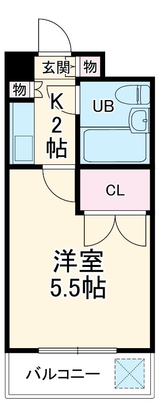 湘南金沢文庫ハイツ 303号室の間取り