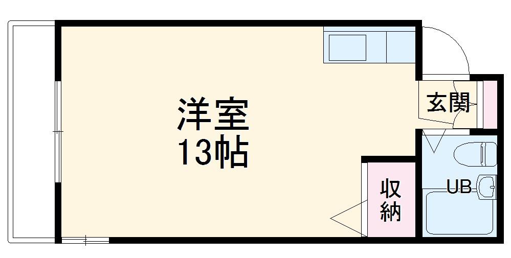 第5野本ビル・202号室の間取り