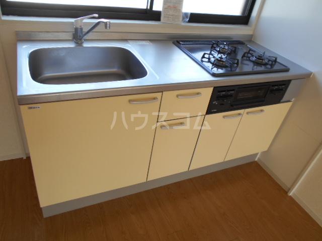ミユキハイツ 202号室のキッチン
