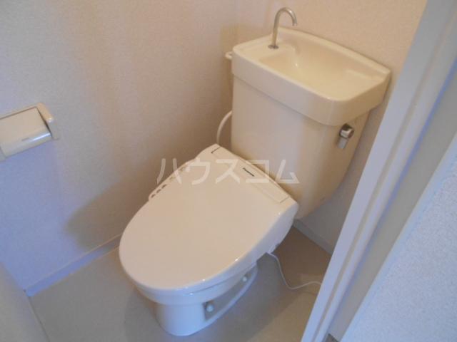 ミユキハイツ 202号室のトイレ