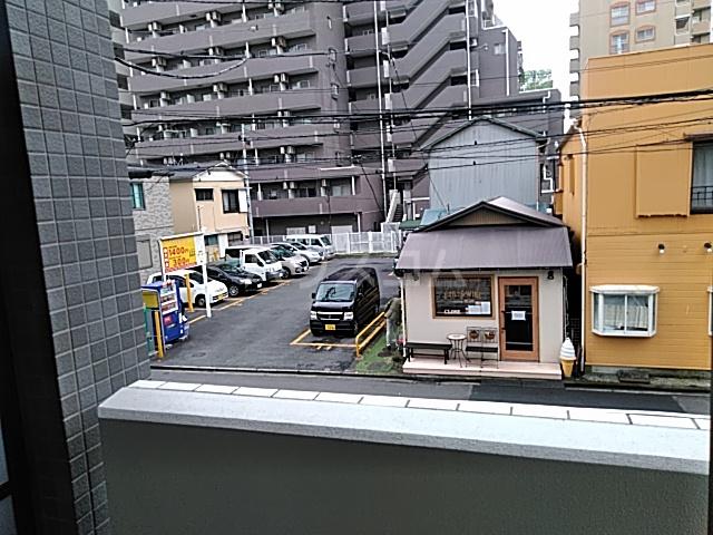 BANDOBASHI KNOTS 802号室の景色