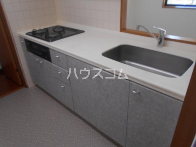 モアステージ戸塚 124号室のキッチン