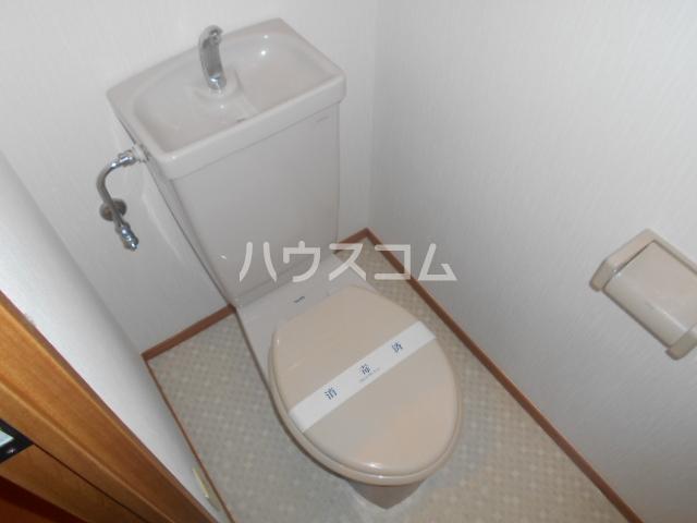 モアステージ戸塚 124号室のトイレ