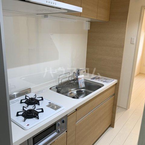 アイビーⅤ 108号室のキッチン