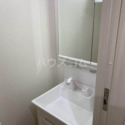 アイビーⅤ 108号室の洗面所