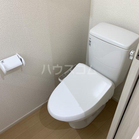 アイビーⅤ 203号室のトイレ