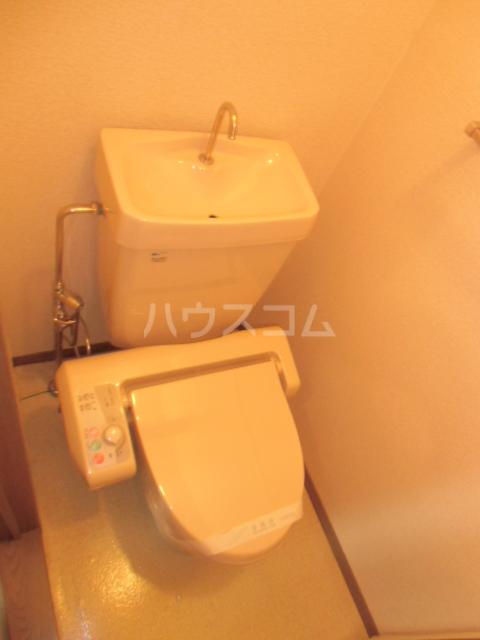リヴェールJ Ⅰ棟 202号室のトイレ