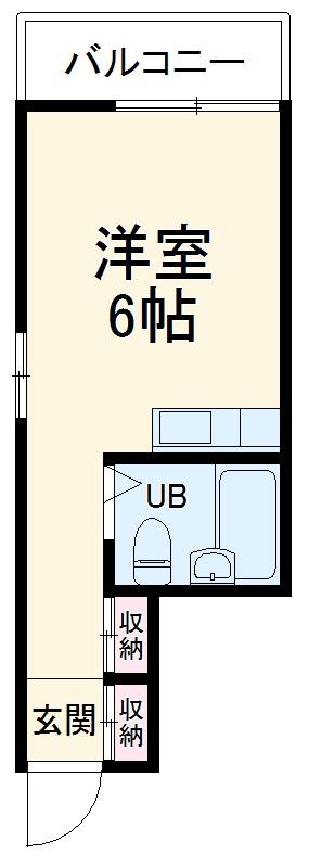 ラックスホーム本牧ヒルズパートⅡ 22号室の間取り