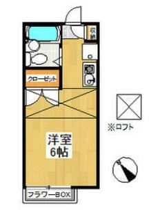 ピュア戸塚 0203号室の間取り