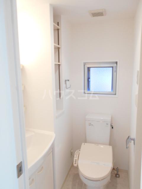プロスペクト中央林間 204号室のトイレ