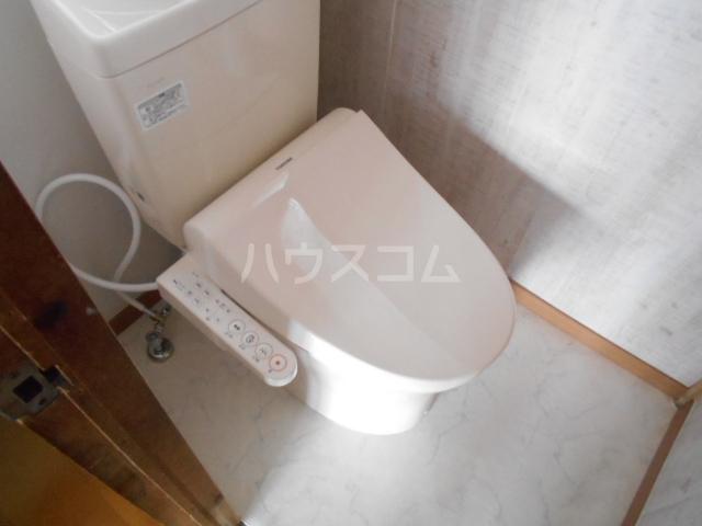 長崎荘 102号室のトイレ