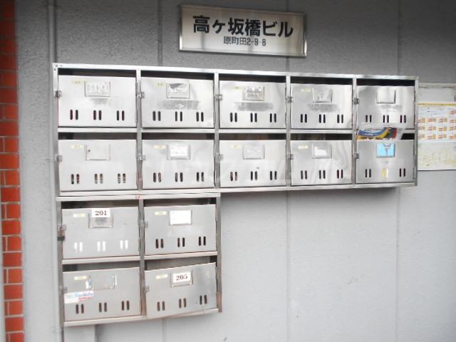 高ヶ坂橋ビル 202号室のロビー