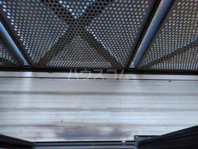 ロワール上河内Ⅱ 101号室のバルコニー