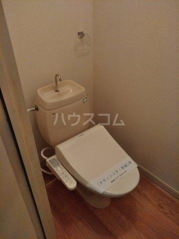 ロワール上河内Ⅱ 101号室のトイレ