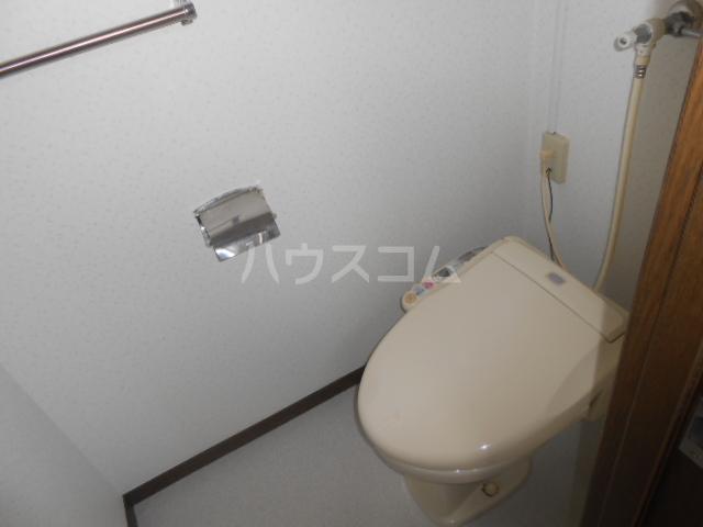 稲荷山ハイツ 1-G号室のトイレ