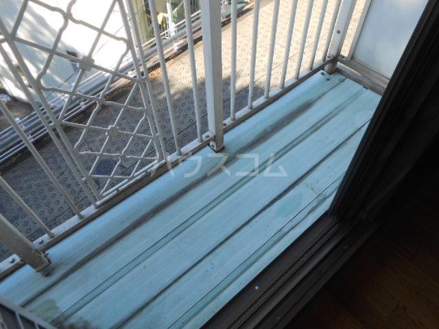 稲荷山ハイツ 1-G号室のバルコニー