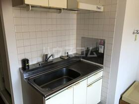 モルゲンロート蒔田 504号室のキッチン