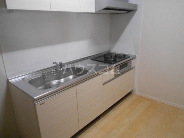 スカイパレス東戸塚 702号室のキッチン
