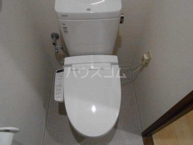スカイパレス東戸塚 702号室のトイレ