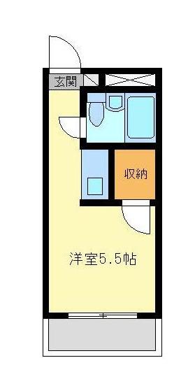 金沢八景相川ビル 401号室の間取り