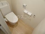 (仮称)栄区長沼町新築アパート 202号室のトイレ