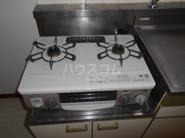 須藤パークハイツ 202号室のキッチン