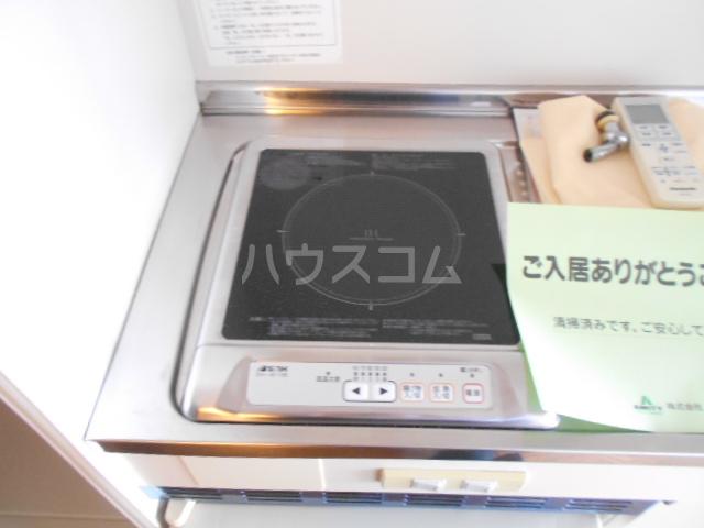 コテージ戸塚 201号室のキッチン