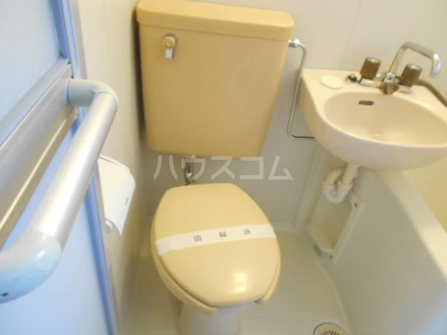 コテージ戸塚 201号室のトイレ