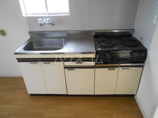 ベルハウス22 201号室のキッチン