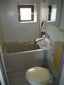 FUJIコーポ 202号室の洗面所