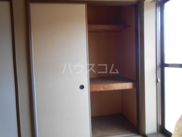 エレガンス 202号室の収納