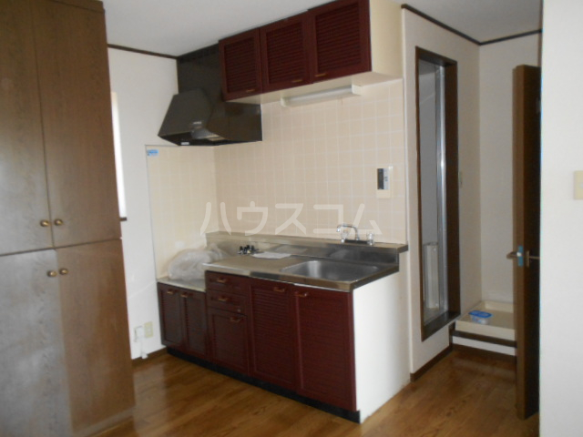 エレガンス 202号室のキッチン