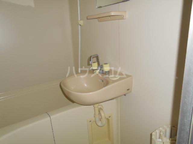 エレガンス 202号室の洗面所
