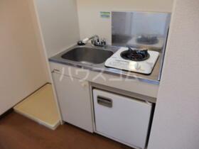 パークサイド本牧 301号室のキッチン
