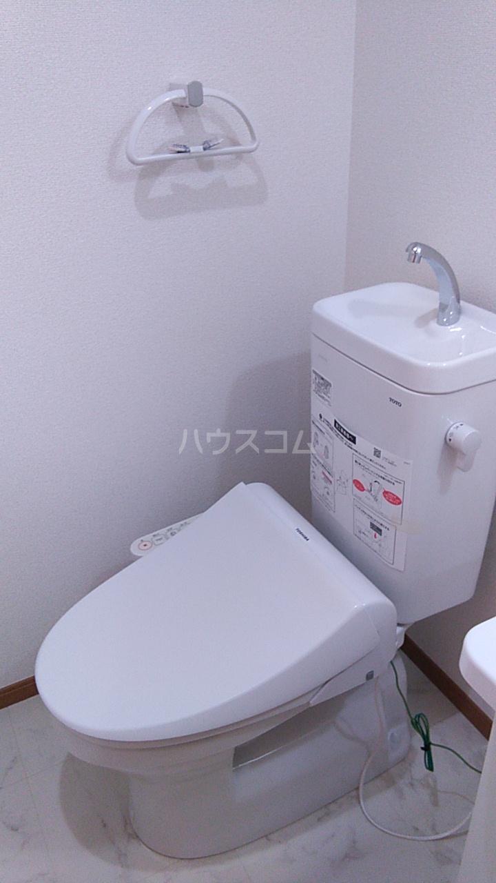 ITハウス 104号室のトイレ