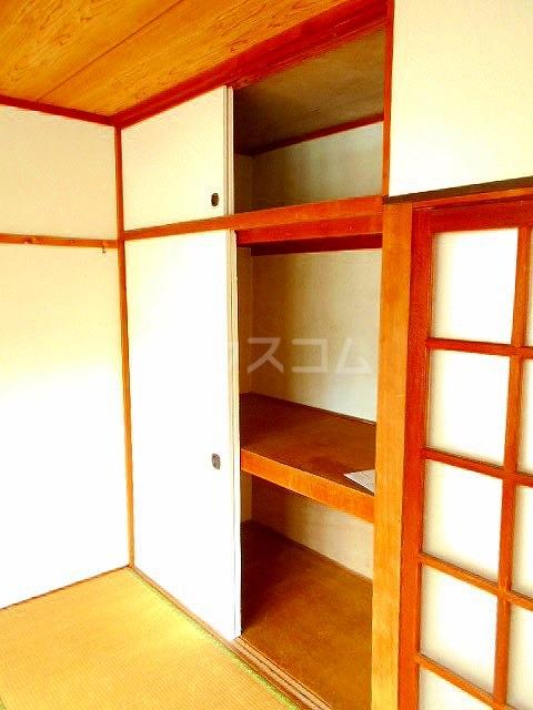 レイクナガノ 205号室の収納