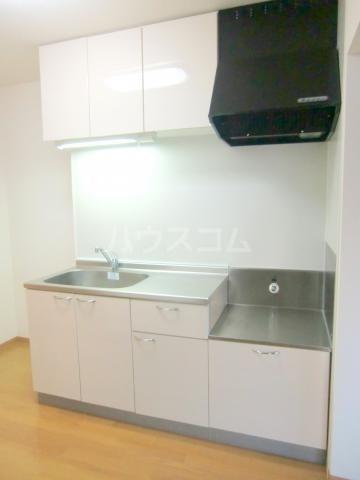 パルテール 202号室のキッチン